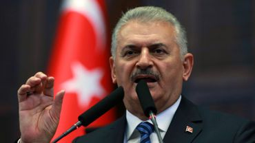 Le Premier ministre Binali Yildirim