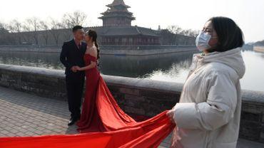 Un mariage organisé cette semaine à Pékin, la capitale chinoise.