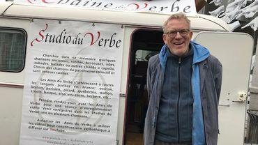 Dick Annegarn est venu récolter les chansons traditionnelles à Mons