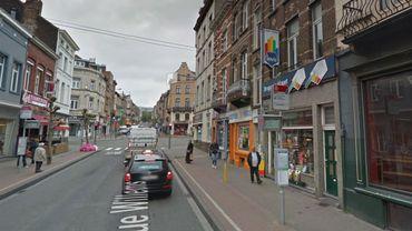 Rue Willems, à Saint-Josse, là où a eu lieu l'accident.