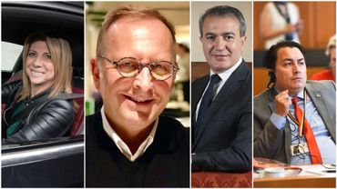 Muriel Targnion, Benoît Hons, Emir Kir et Emin Ozkara, trois exclusions et un départ.