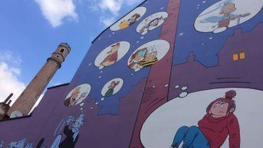 Voilà à quoi ressemble la nouvelle fresque BD de la ville de Bruxelles