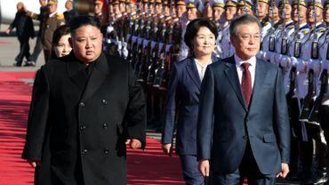 Corée: Kim et Moon en réunion au sommet