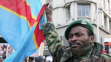 Illustration - Photo d'archive: Manifestation de quelques centaines de Congolais contre Kabila à Bruxelles