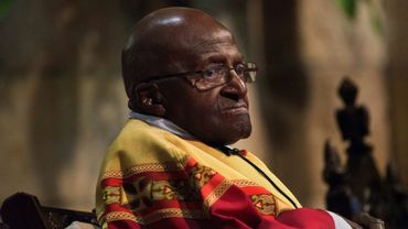L'Archevêque Desmond Tutu, l'un des signataires de la lettre à Ryad.