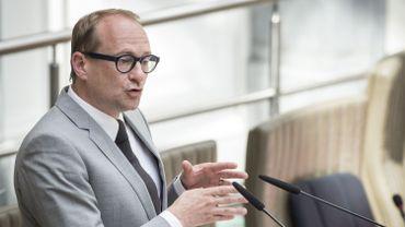 Le ministre flamand de la Mobilité Ben Weyts (N-VA)