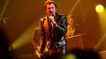 Johnny Hallyday en concert à la Citadelle de Namur avec la RTBF (image d'archives)