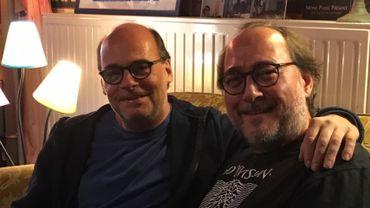 Marc De Roy et Fabrice Gardin