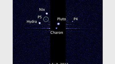 Une 5ème lune de Pluton, P5, vient d'être découverte