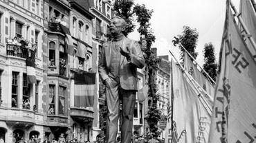 Monument-hommage à Jules Destrée, à Charleroi