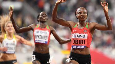 Obiri conserve son titre sur 5 000 m