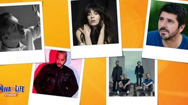 Découvrez les artistes de la scène 5 étoiles de Viva for Life