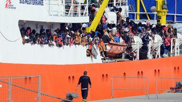 Méditerranée: 5000 migrants secourus en deux jours