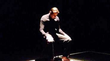 Stéphane Pirard sur scène à Londres