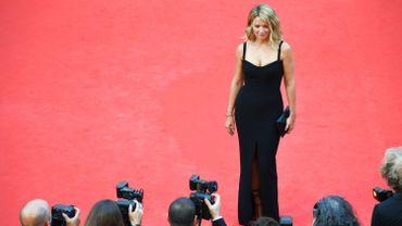 Virginie Efira à Cannes.