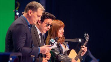 James Deano en direct avec Nicolas Sarkozy et Carla Bruni