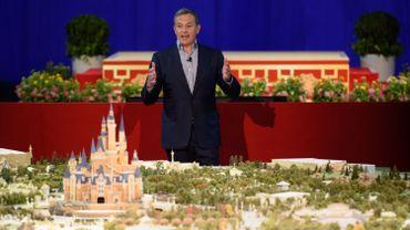 Bob Iger, le PDG du groupe Disney