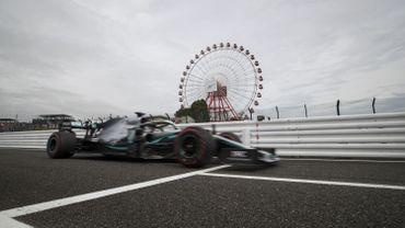 Mercedes domine largement les essais libres 1 à Suzuka