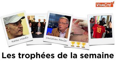 Les Trophées de la Semaine du 25 novembre : Ratko Mladic, des responsables religieux, Christian Panier, des chirurgiens aux doigts d'or et Damso