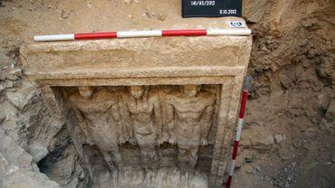 La tombe de la princesse pharaonique 'Chert Nebti' découverte à Abou Sir