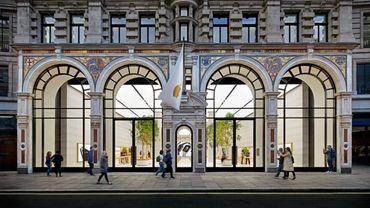 L'Apple Store de Regent Street, à Londres.