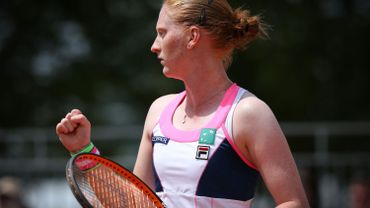 Van Uytvanck qualifiée pour le deuxième tour