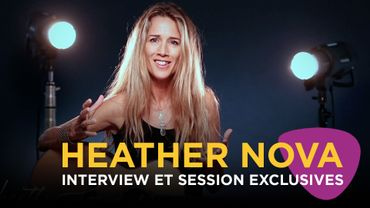 Heather Nova: session et interview avec Classic 21