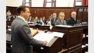 L'audience de Dominique Strauss-Kahn devant la juge le 16 mai 2011 à New York