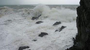 La tempête Gloria, à Port-Vendres dans les Pyrénées-orientales le 21 janvier 2021