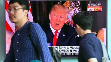 Trump dit que ses mots sur la Corée du Nord ne sont pas assez durs