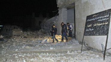Une frappe aérienne américaine responsable de la destruction d'une mosquée près d'Alep?