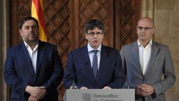 """Le gouvernement catalan redemande à Madrid un référendum """"à l'écossaise"""""""