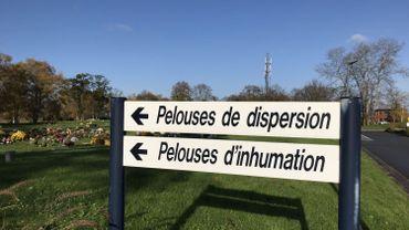 Le futur crématorium de Héron possédera un parc cinéraire. Ici, celui du cimetière de Robermont