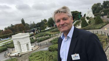 Ici Thierry Meeùs, le patron de Mini Europe. L'enquête publique pour la démolition débute ce jeudi.