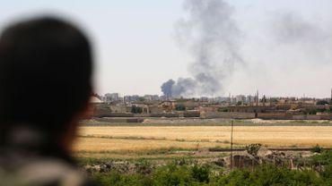 Un avion syrien abattu par la coalition anti-EI près de Raqa