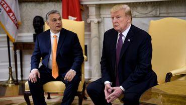 Trump accueille le Hongrois Orban, un « homme dur » mais « respecté »