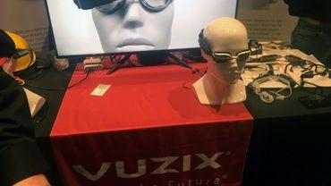 Les lunettes de natation Vuzix permettent de nager en regardant des vidéos