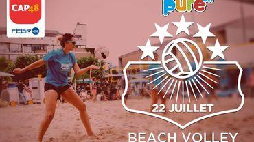 Venez, pour soutenir CAP48, faire du beach volley avec nous
