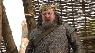 Robert Baratheon (Mark Addy), Premier du nom, roi des Andals et des Premiers Hommes, protecteur des Sept Couronnes