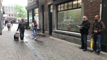 L'opération de comptage des passants se poursuivra toute la semaine à Liège