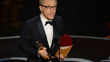 Christoph Waltz avec son 2e Oscar