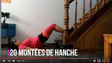 Six professeurs d'éducation physique de Saint-Michel proposent quotidiennement des exercices sur leur chaîne CSMG SPORT