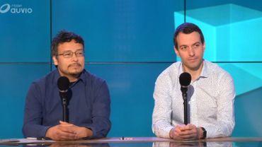 Jonas Moerman (Ecoconso) et Alexandre Colleau (Underside)