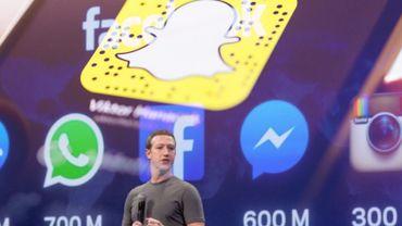 Les stories Snapchat : un modèle très convoité par Mark Zuckerberg