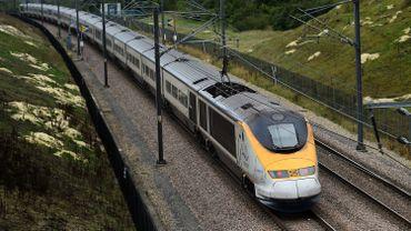 L'Eurostar a heurté un bloc de béton à hauteur d'Aubechies