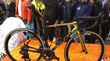 Greg Van Avermaet va conserver son casque et son vélo dorés un an de plus!