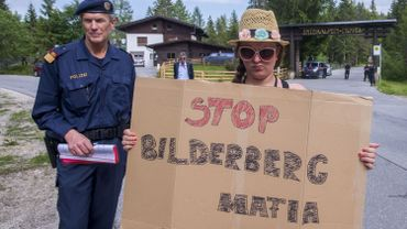 Chaque année, des manifestants s'opposent au sommet de Bilderberg
