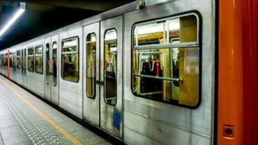 Interruption du trafic de la ligne de métro 5 entre Hermann Debroux et Mérode