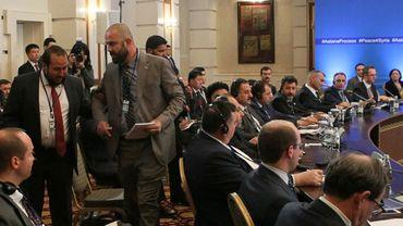 Les pourparlers d'Astana, axés sur la sécurité, se tiennent avant un septième round de négociations politiques sous l'égide de l'ONU le 10 juillet à Genève.