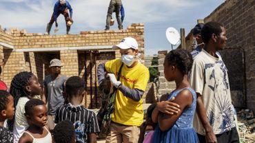 Ici en Afrique du Sud, pays le plus touché du continent.